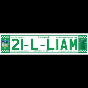 limerick number plate